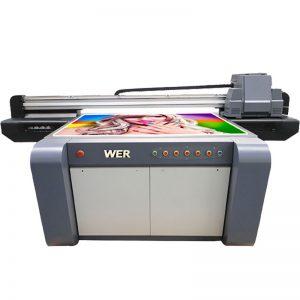 3D efekt UV plochá tiskárna, keramická tiskárna, tisková taška v Číně WER-EF1310UV