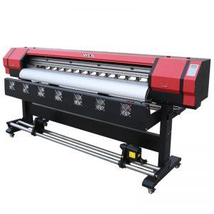 6 stop Tiskové video WER-ES1901 DX5 / DX7 tisková eco solventní tiskárna v Číně dodavatele