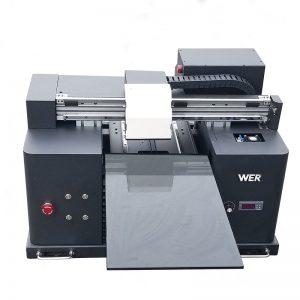 Plochá UV tiskárna A3 pro hliníkový kovový tisk WER-E1080UV