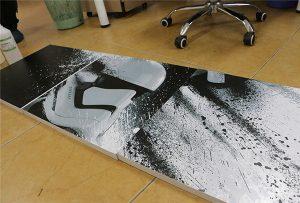 Billboard vytištěný velkoformátovou UV tiskárnou WER-G2513UV