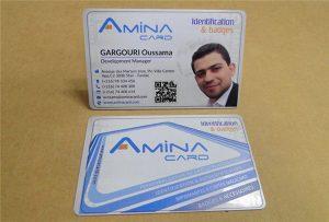 Vzorová karta s názvem Business Name na tiskárně uv-tiskárna - velikost A2 WER-D4880UV
