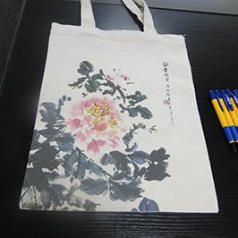 Výtisk vzorku na plátno s taškou A2 na tričko WER-D4880T
