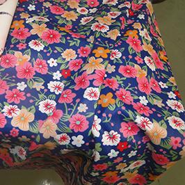 Digitální textilní tiskový vzorek 1 digitální textilní tiskárnou WER-EP7880T