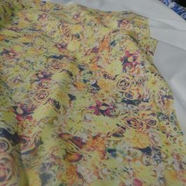 Digitální vzorek tisku textilií 3 podle digitální textilní tiskárny A1 WER-EP6090T