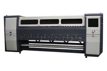 Dobrá kvalita K3404I / K3408I Solvent Printer 3.4m vysoce výkonná inkoustová tiskárna