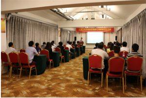 Setkání skupiny v hotelu Wanxuan Garden, 2015