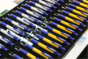 Vzorky pera na zařízení WER-EH4880UV
