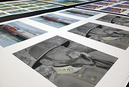 Fotografický papír vytištěný eco rozpouštědlovou tiskárnou Wer-ES1802 1,8m (2 stopy) 2