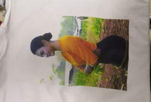 T shirts tisk vzor pro klienta Burma z tiskárny WER-EP6090T