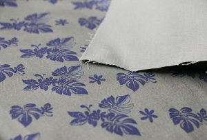 Textilní tiskový vzor 2 pomocí digitálního tisku stroje WER-EP7880T