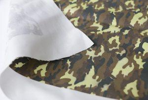 Textilní tiskový vzor 3 digitálním textilním tiskacím strojem WER-EP7880T