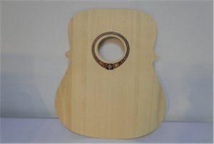 Dřevěný kytarový vzorek z tiskárny velikosti A2 WER-DD4290UV