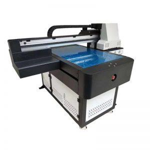 digitální UV inkoustový tiskový stroj pro vodní víno plastové keramické sklo ocelové lahve WER-ED6090UV