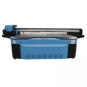 plnofarebná CMYK LCLM bílá lakovaná UV plochá tiskárna 3D WER-G2513UV