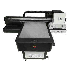 digitální UV plochá inkoustová tiskárna přímá textilní tkanina DTG tiskárna WER-ED6090T
